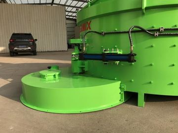 Green PMC2500 Planetary Concrete Mixer High Efficiency Simple Structure