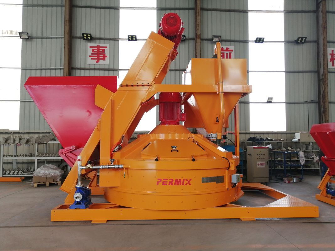 Orange Color Refractory Planetary Mixer Flexible Layout With CE Certificate